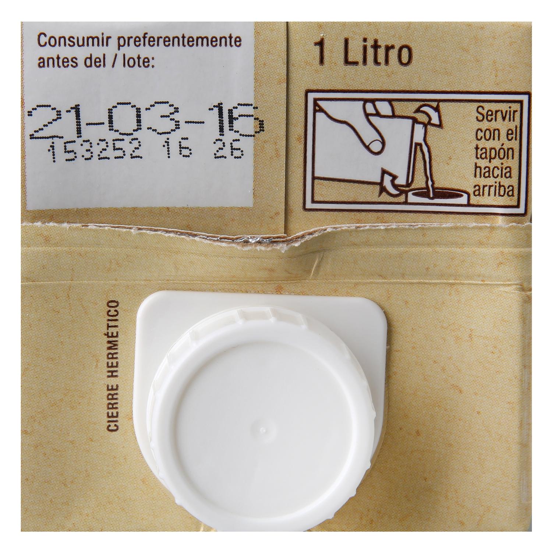 Leche semidesnatada ecológica Carrefour Bio brik 1 l. - 4