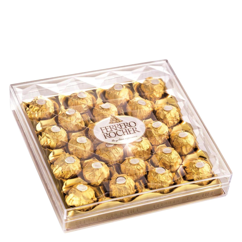 fotos nuevas nuevo estilo lindo baratas Bombones de chocolate con leche y avellana Ferrero Rocher 24 ...