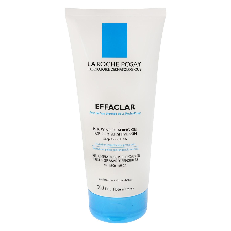 Gel limpiador purificante pieles grasas y sensibles La Roche-Posay 200 ml.