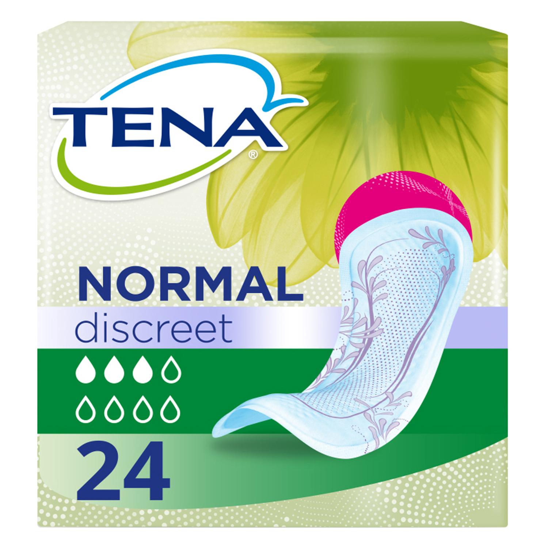 Compresas para pérdidas de orina ligeras o moderadas Normal Tena Lady 24 ud.