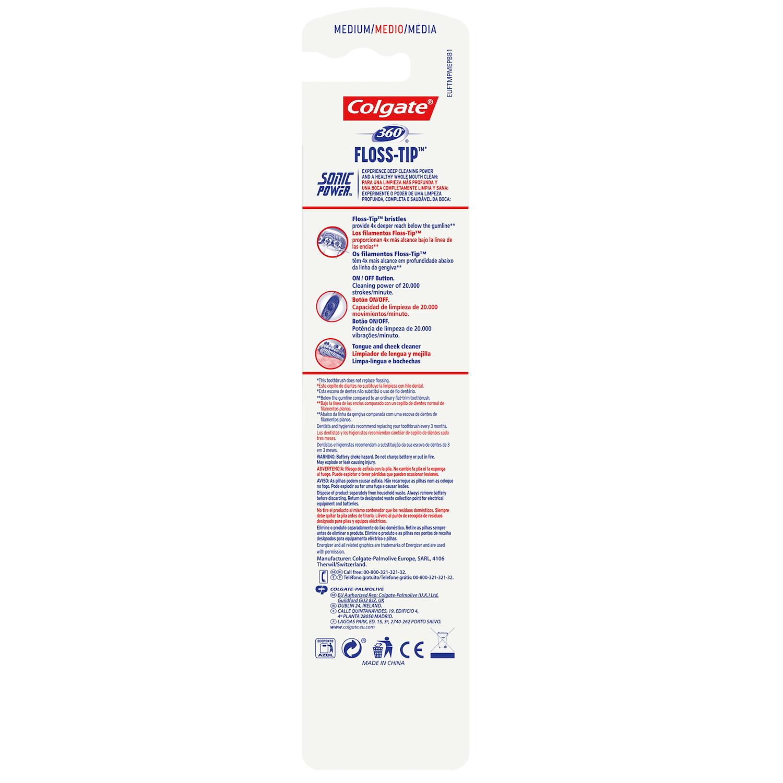 2 Cepillo dental eléctrico 360º Sonic Power Medio Colgate 1 ud. - 3 42bc330fdffc