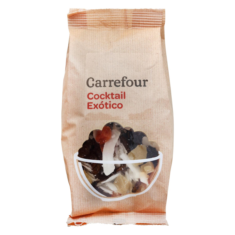 Cocktail de frutas exóticas Carrefour 150 g.