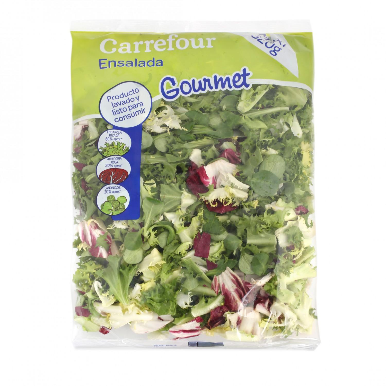 Ensalada mezcla gourmet maxi Carrefour bolsa 350 g - 2