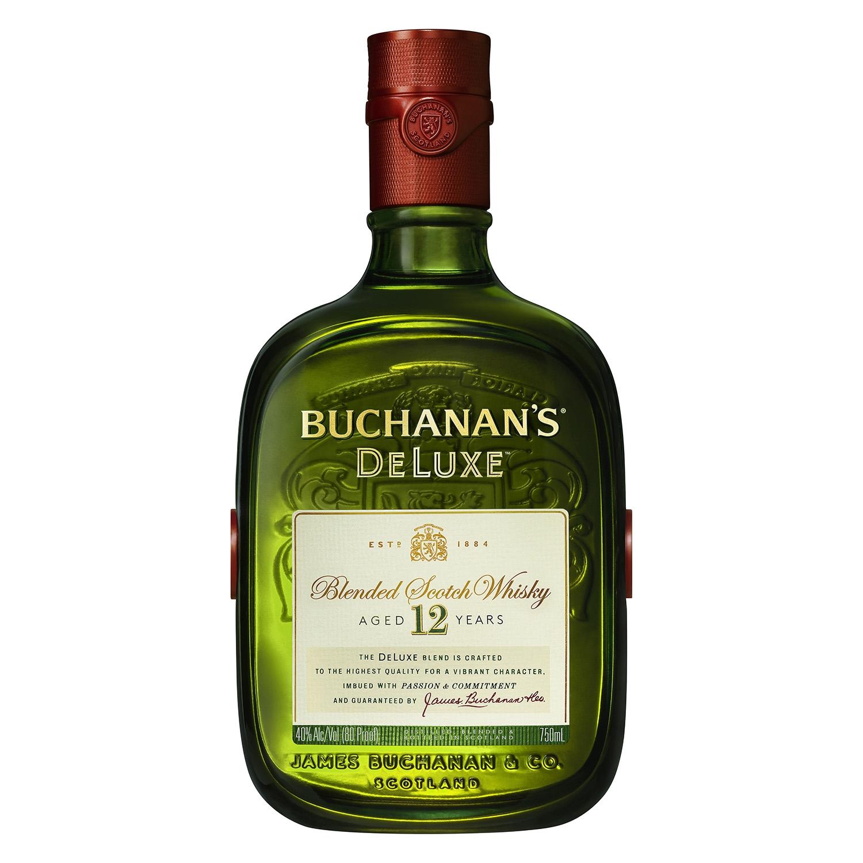 Whisky Buchanan's escocés deluxe 12 años 1 l.