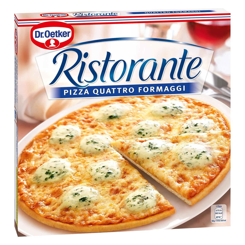 Pizza Quattro Formaggi Dr. Oetker - Ristorante 340 g.