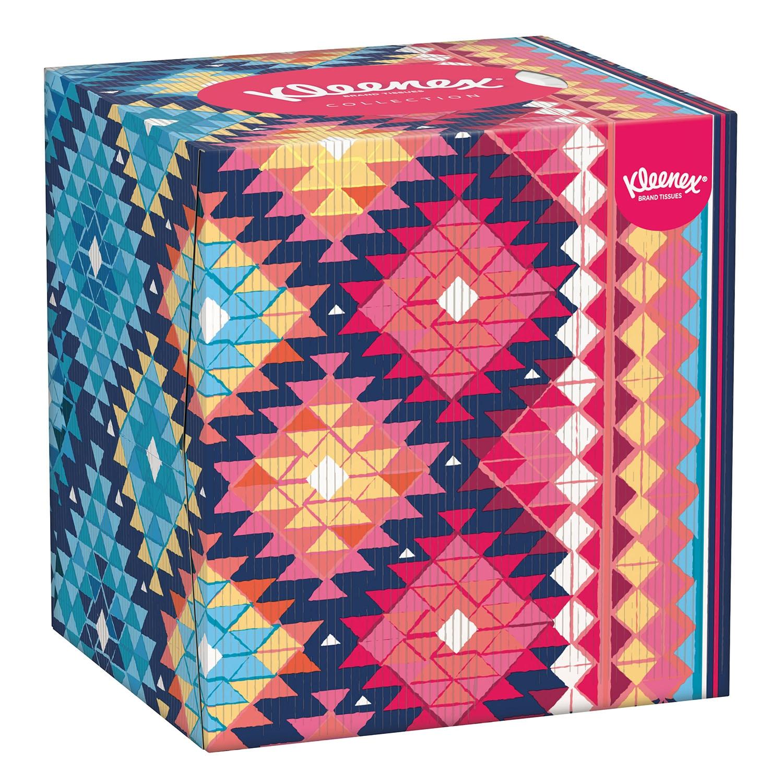 Caja de pañuelos Collection Kleenex 56 ud.