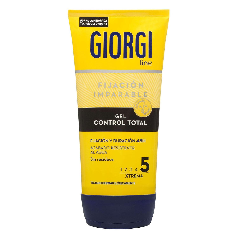 Gel fijador x-trema 'Control Total' Giorgi 150 ml.