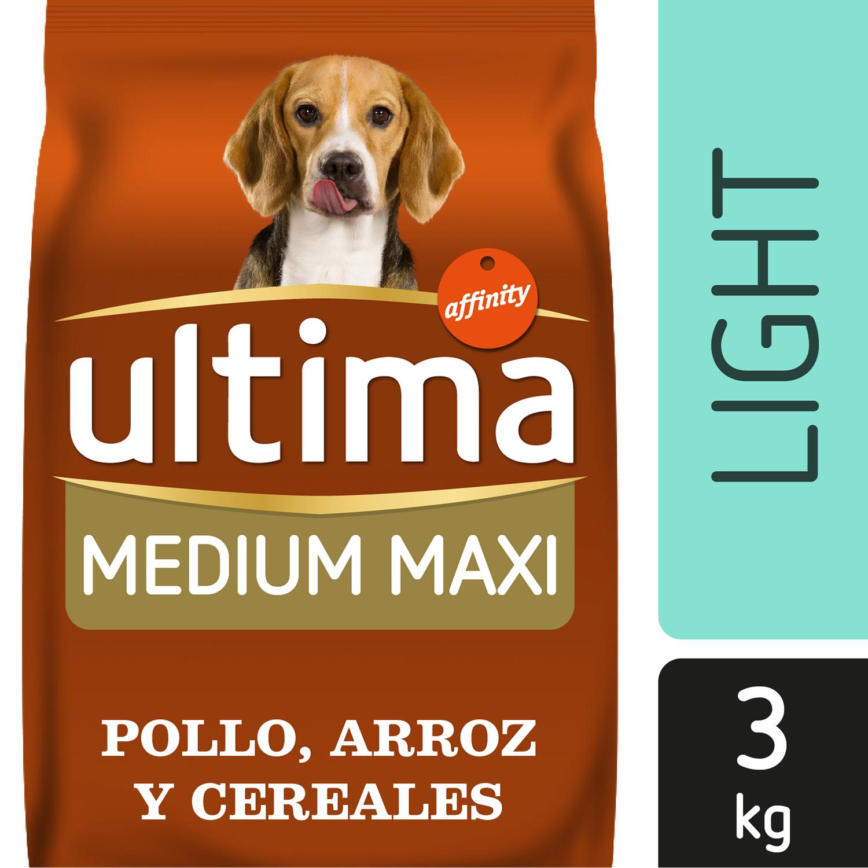 Alimento Perro Seco Ultima Medium Maxi Light -