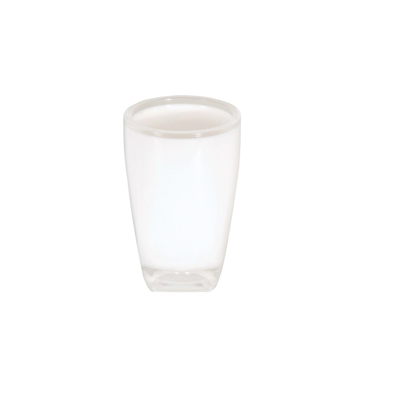 Vaso de lavabo de la gama Tahiti 7,5cm Blanco