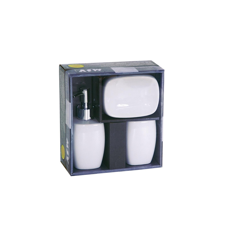 Set de baño  de la gama Classic 11,7cm  Blanco