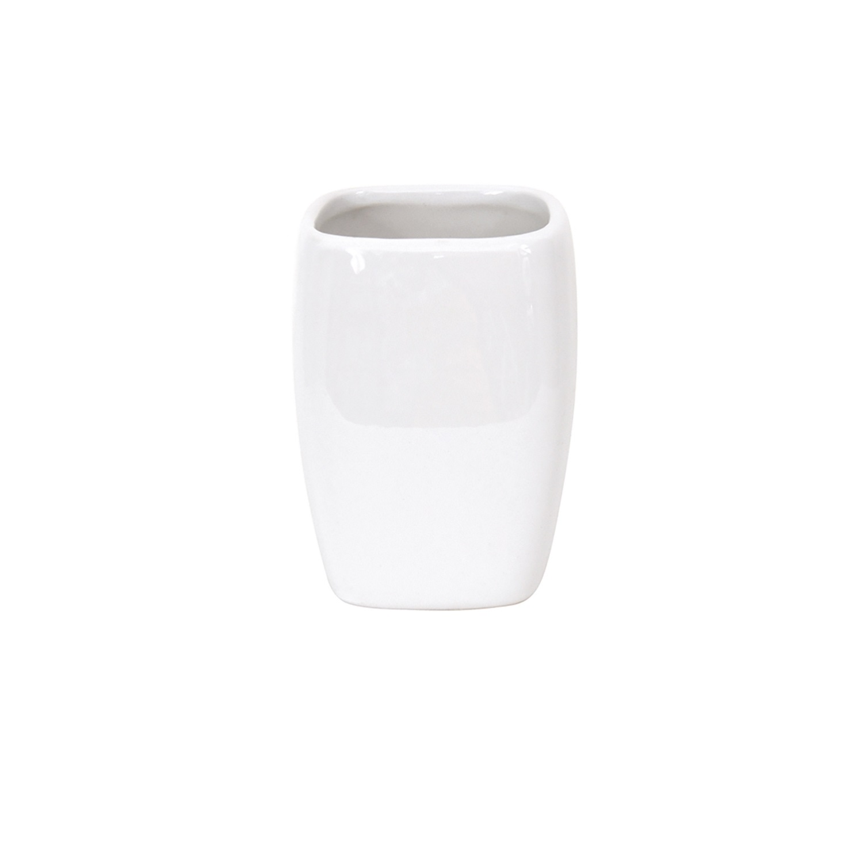 Vaso de lavabo de la gama Classic 7cm MSV - Blanco