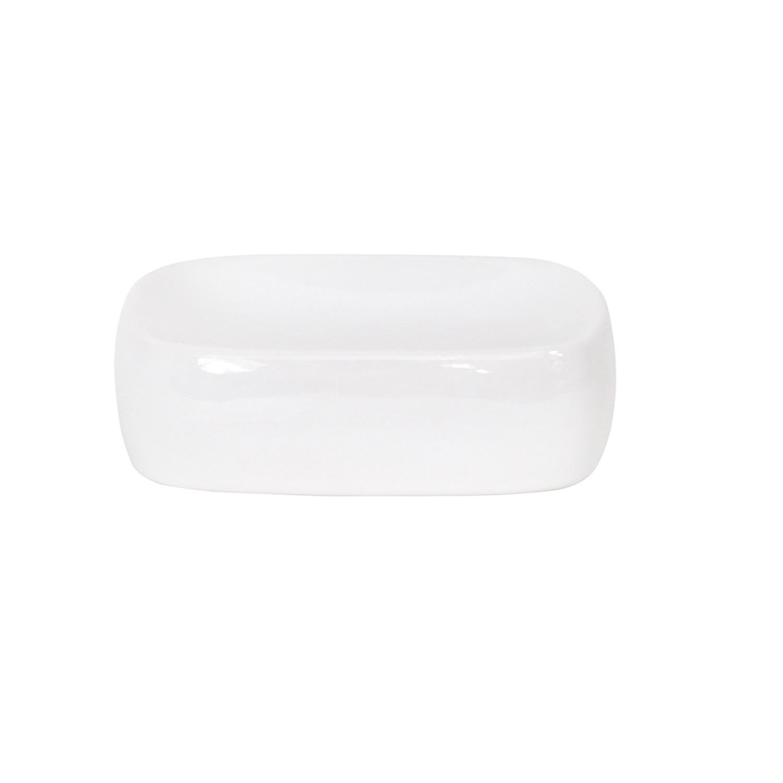 Jabonera de baño de la gama Classic 9,5cm  Blanco