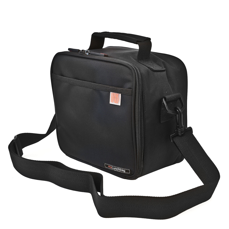 Bolsa portalimentos IRIS My Lunchbag - Negro