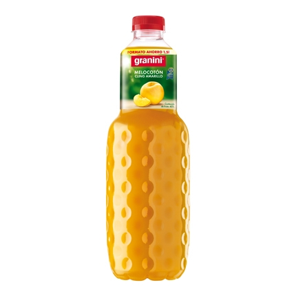 Néctar de melocotón Granini botella 1,5 l.