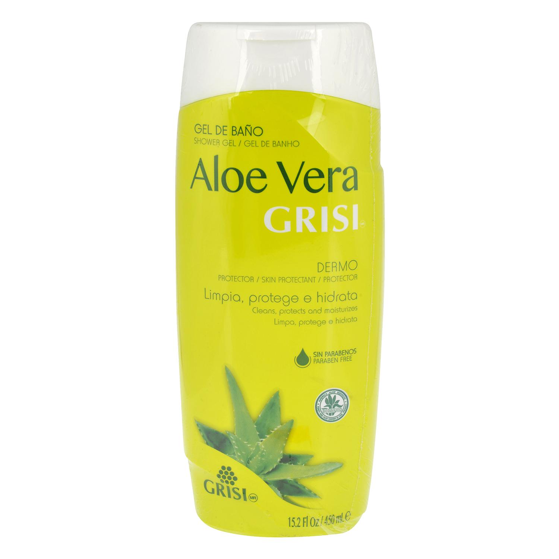 Gel baño Aloe Vera Grisi 400 ml.