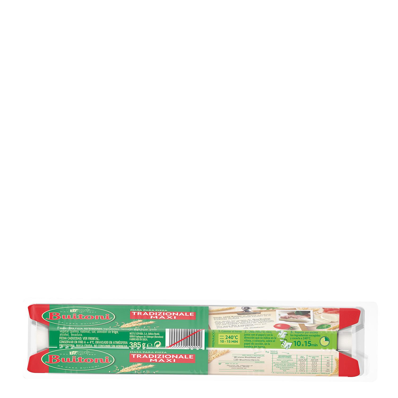 Masa para Maxi Pizza Buitoni 385 g. -