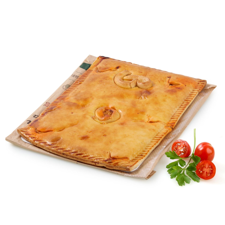 Empanada rectangular boloñesa Carrefour 600 g.