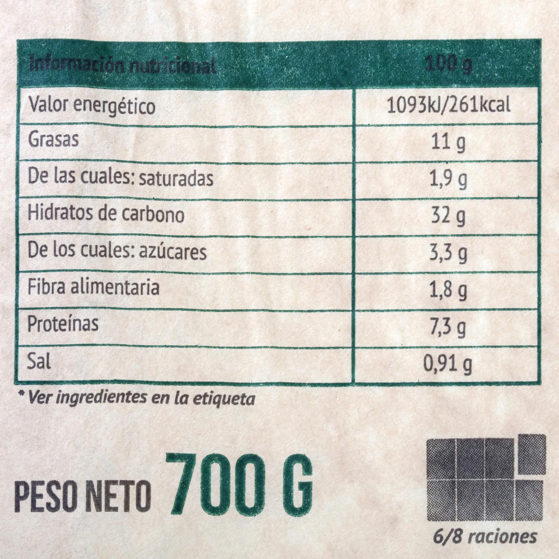 Empanada rectangular boloñesa Carrefour 600 g. - 4