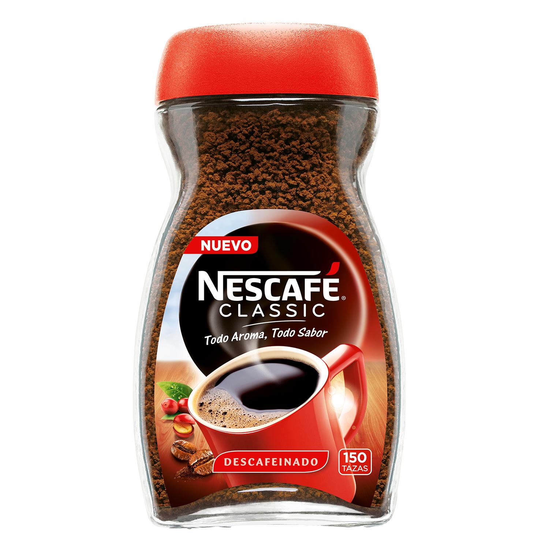 Café soluble natural descafeinado