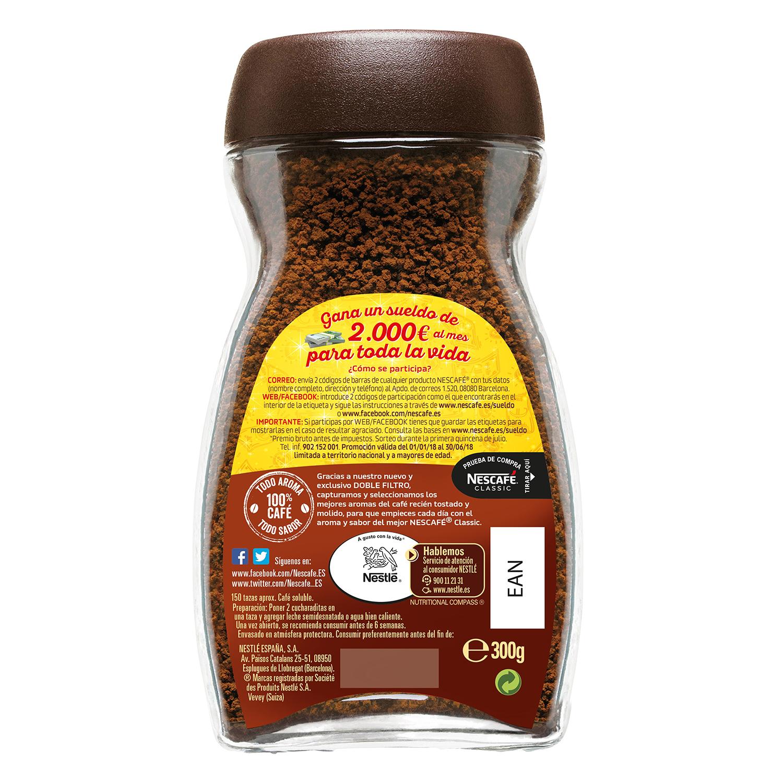 Café soluble natural -