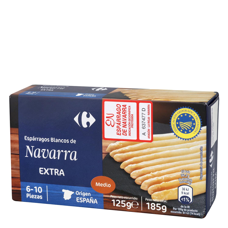 Espárragos blancos de Navarra