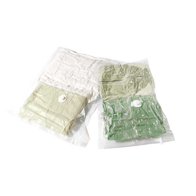 Set de Funda para la ropa de Plástico 80 x 100 x 1 cm Translúcido