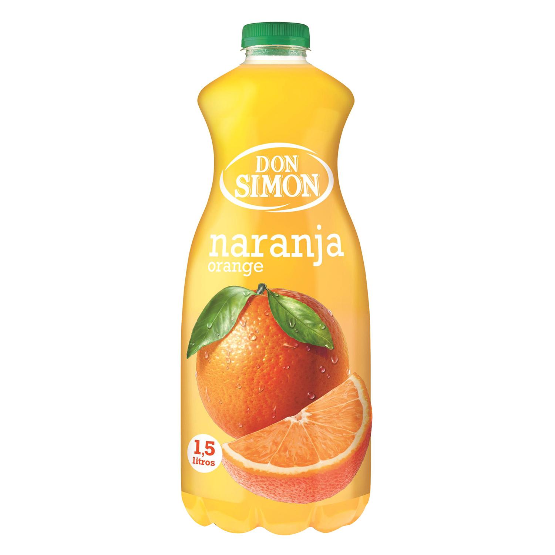 Néctar de naranja Don Simón botella 1,5 l.