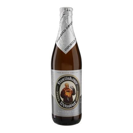 Cerveza Franziskaner Weissbier Kristallklar botella 50 cl.