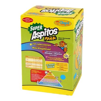 Aperitivo de maíz Aspil Aspitos 30 g.