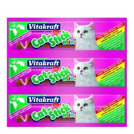 Snack para Gato Vitakraaft Stick Mini Pato