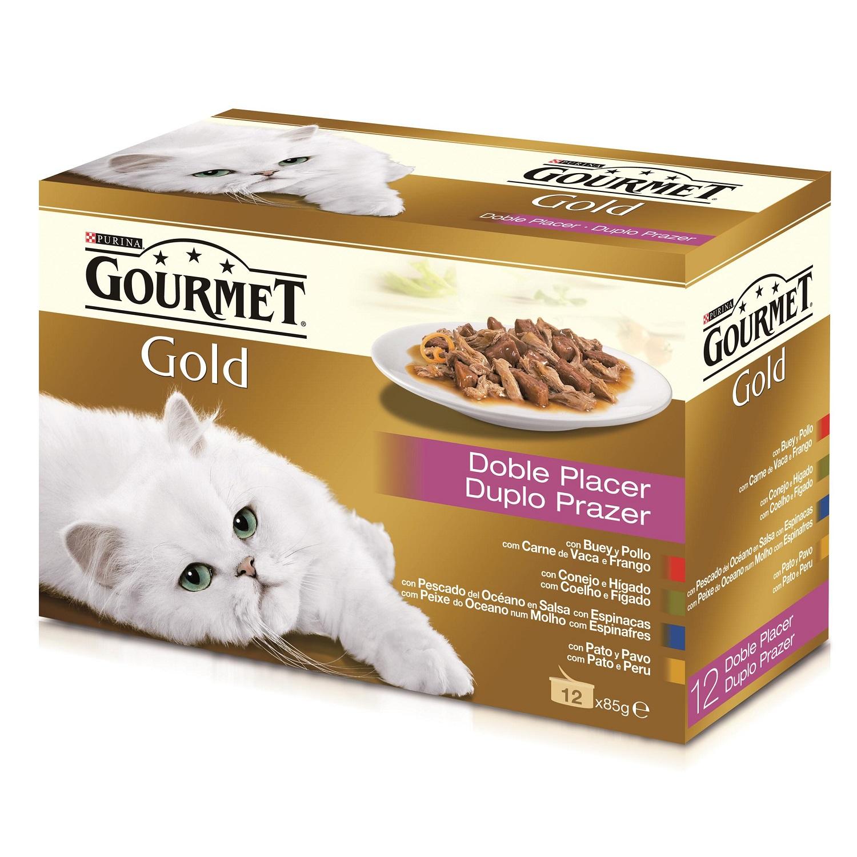 Comida para gatos Doble Placer Surtido