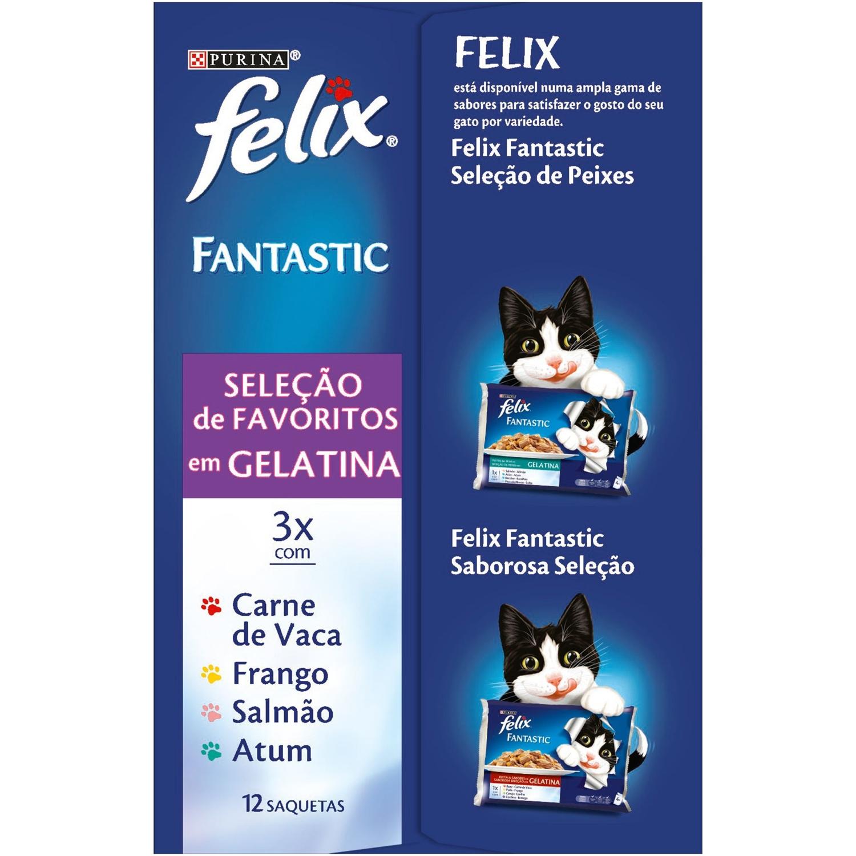 Comida para gatos Selecciones Favoritas en Gelatina -