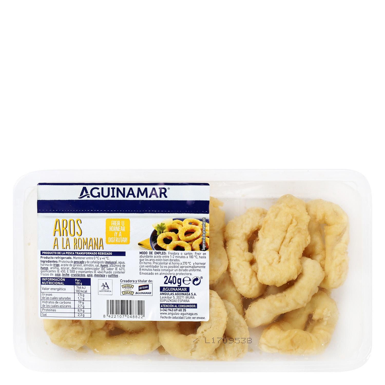 Aros a la romana Aguinamar 270 gr. - 2