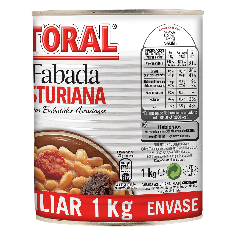 Fabada Asturiana Litoral 1 kg. -