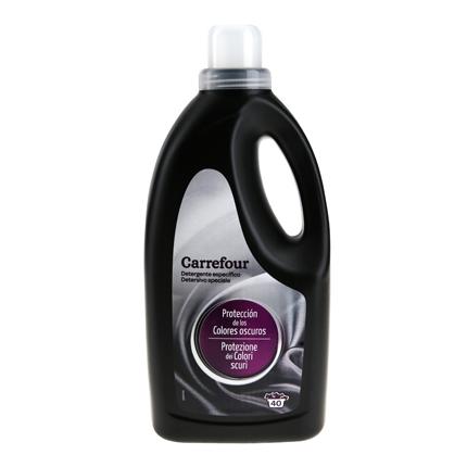 Detergente para ropa negra líquido Carrefour 40 lavados