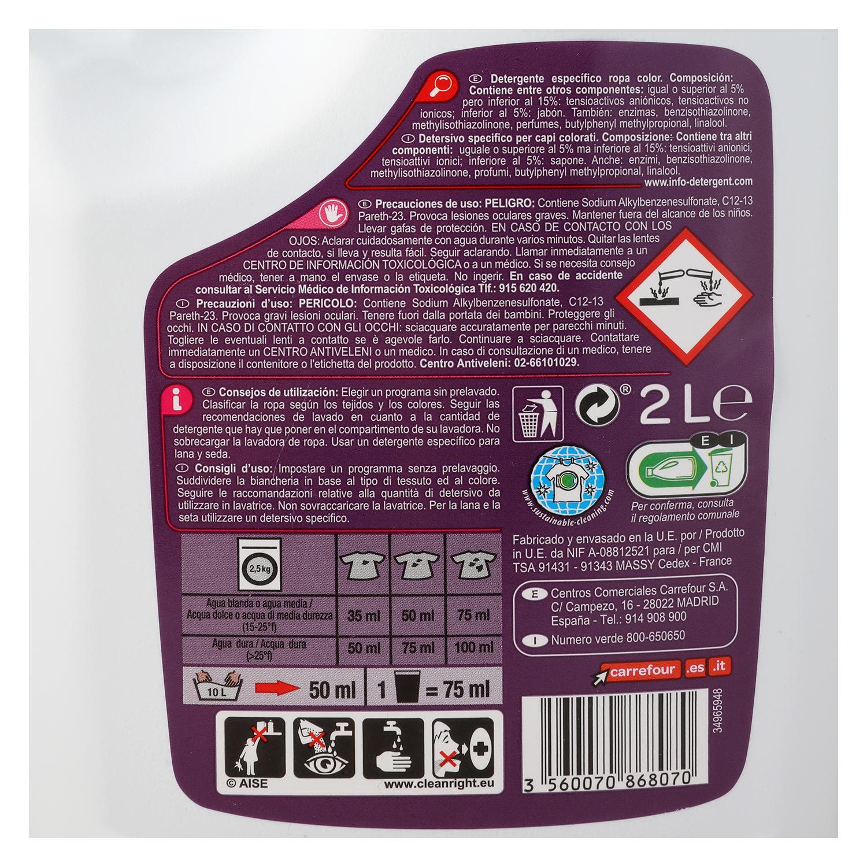 Detergente líquido para ropa de color - 2