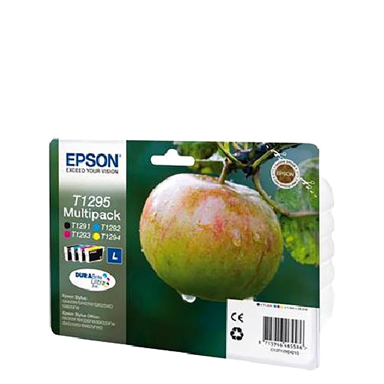 Multipack Cartucho de Tinta Epson C13T - Negro/Tricolor -