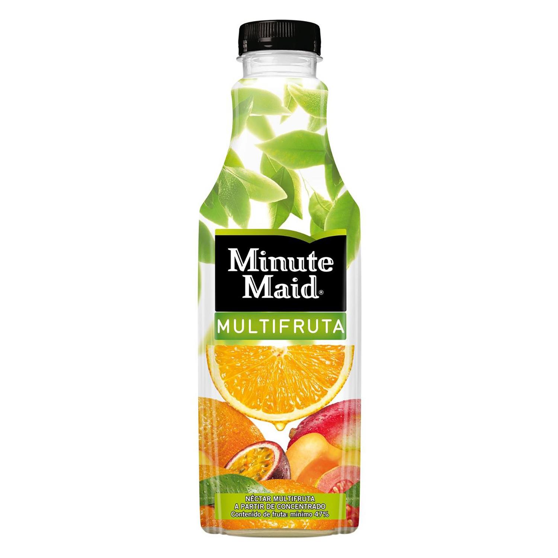 Nectar multifruta Minute Maid botella 1 l.