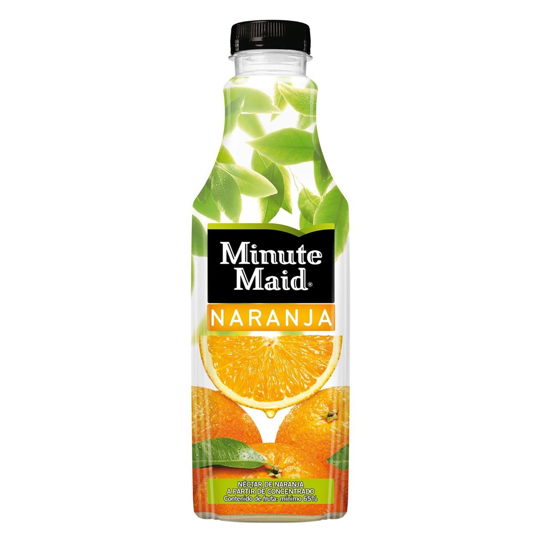 Neéctar de naranja Minute Maid botella 1 l.