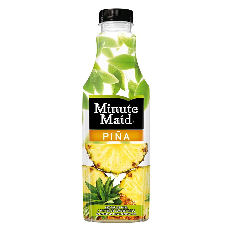 Néctar de piña Minute Maid botella 1 l.