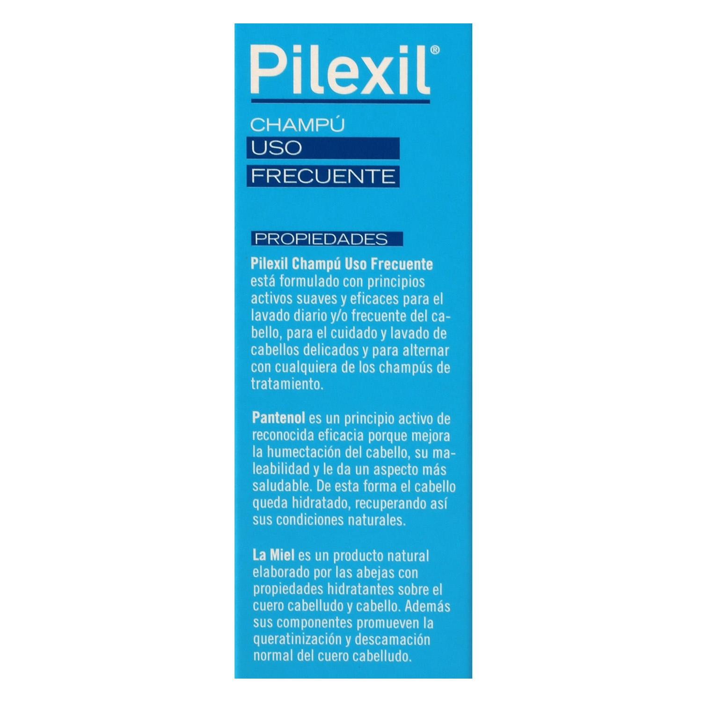 Champú uso frecuente Pilexil 300 ml. -