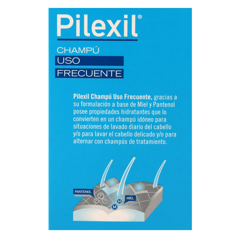 Champú uso frecuente Pilexil 300 ml. - 3