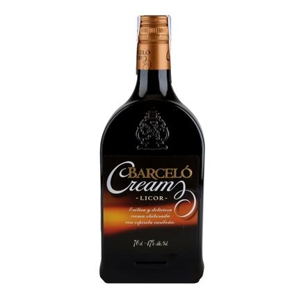 Crema de ron Barceló 70 cl.