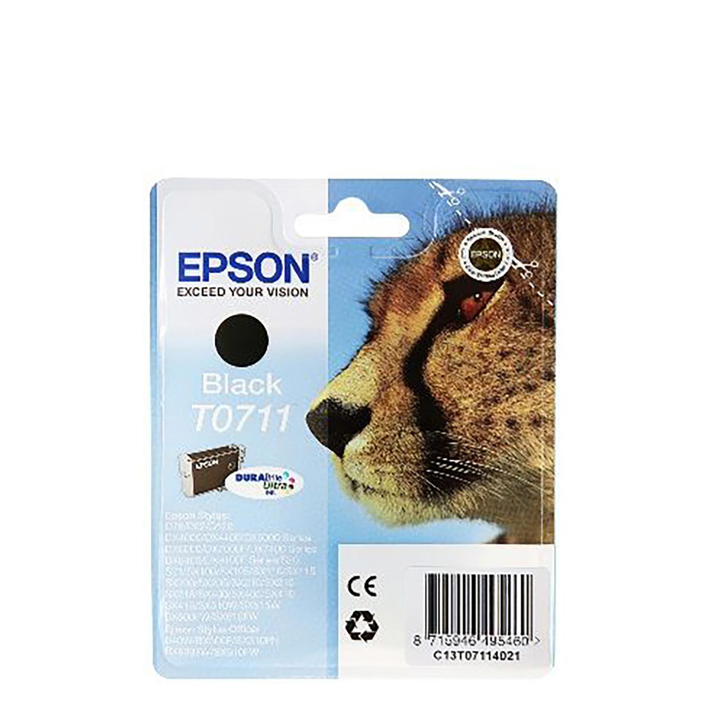 Cartucho de tinta Epson T0711 - Negro -