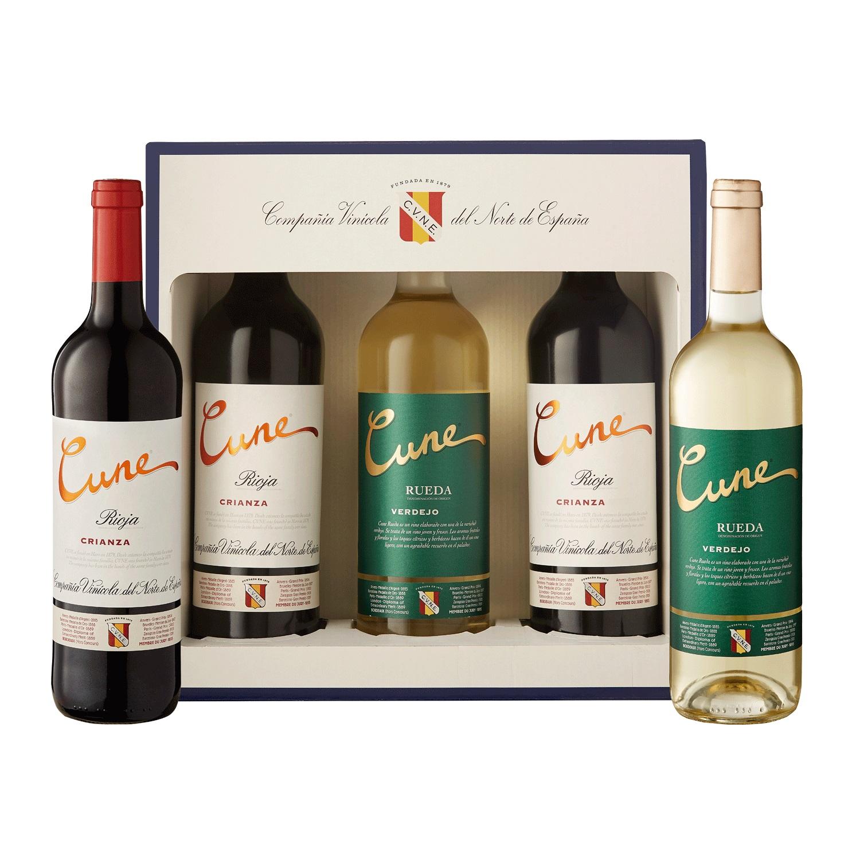 Lote 77: Estuche de 2 vinos D.O. Ca.