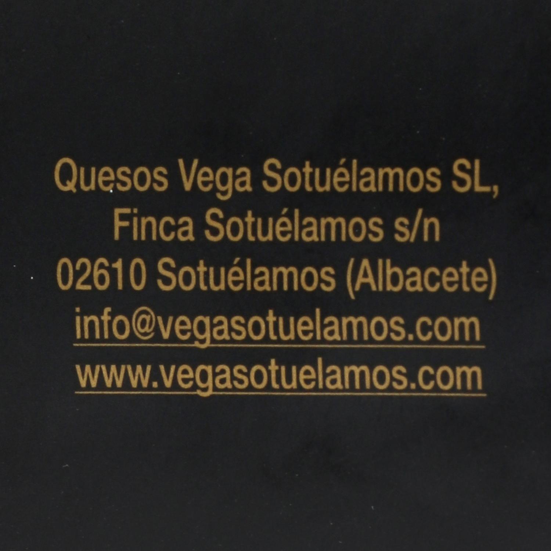 Queso curado de oveja en aceite de oliva Vegasotuelamos tarro de 400 g -