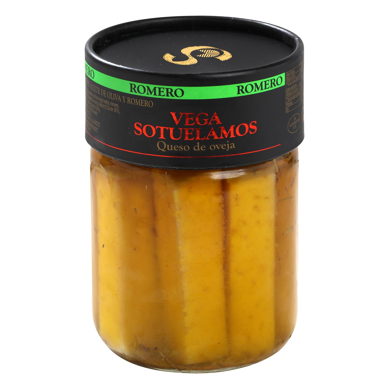 Queso curado de oveja en aceite de oliva y romero Vegasotuelamos tarro de 400 g - 2