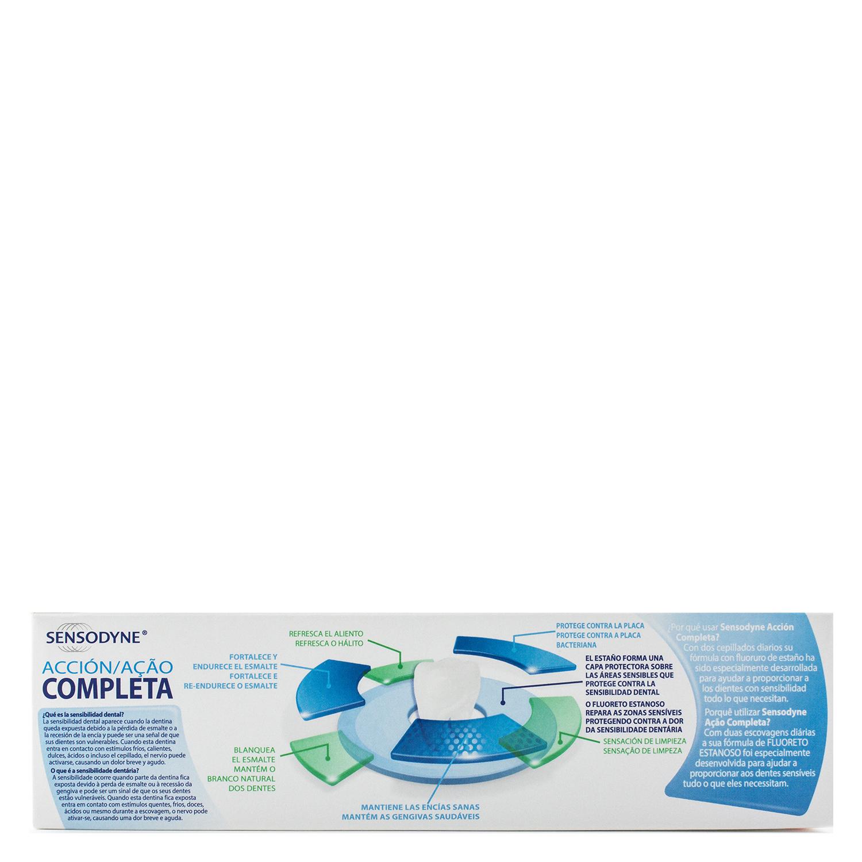 Dentífrico para dientes sensibles Acción Completa Sensodyne 75 ml. - 3