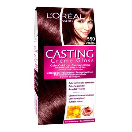 Tinte Créme Gloss nº 550 Caoba L'Oréal Casting 1 ud.