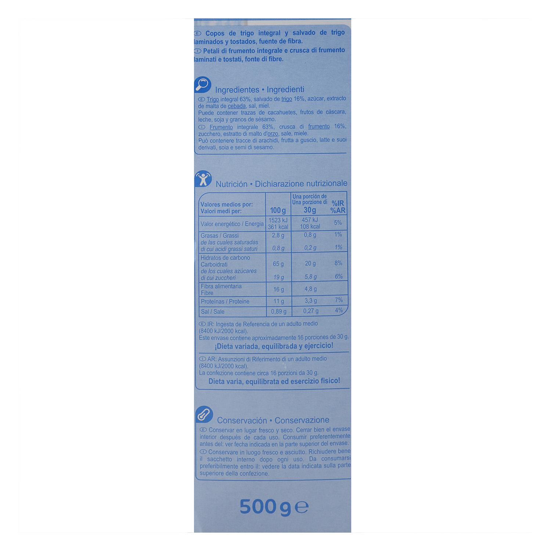 Cereales de trigo integral Carrefour 500 g. - 2